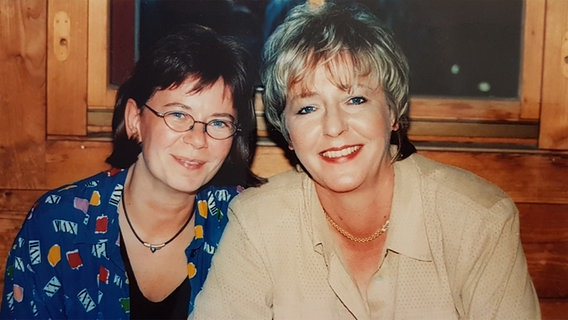 Fanclubleiterin Doris Rickert (links) und Hanne Haller © Doris Rickert Foto: Doris Rickert