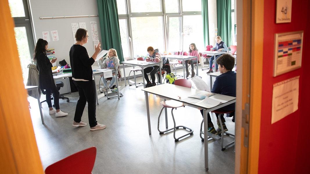 Schule startet für weitere Klassen