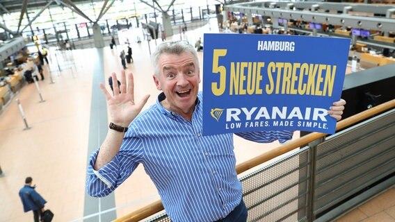 Ryanair nimmt fünf neue Ziele ab Hamburg ins Programm