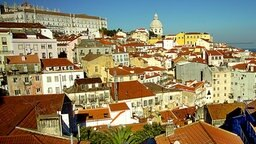 Blick auf Lissabons Altstadt Alfama © picture-alliance / Klaus Rose Foto: Klaus Rose