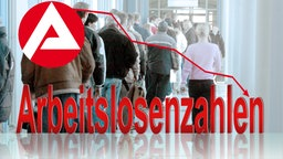Composing zum Rückgang der Arbeitslosenzahlen. © picture-alliance/ dpa/dpaweb Foto: Waltraud Grubitzsch