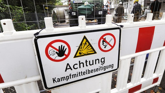 Gewerbegebiet Rosdorf: Bombe wird heute entschärft