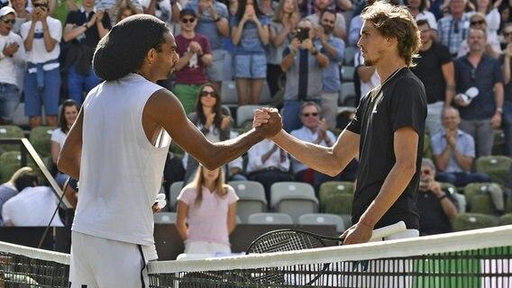 Tennis Brown Schlagt Topgesetzten Zverev Ndr De Sport Mehr Sport