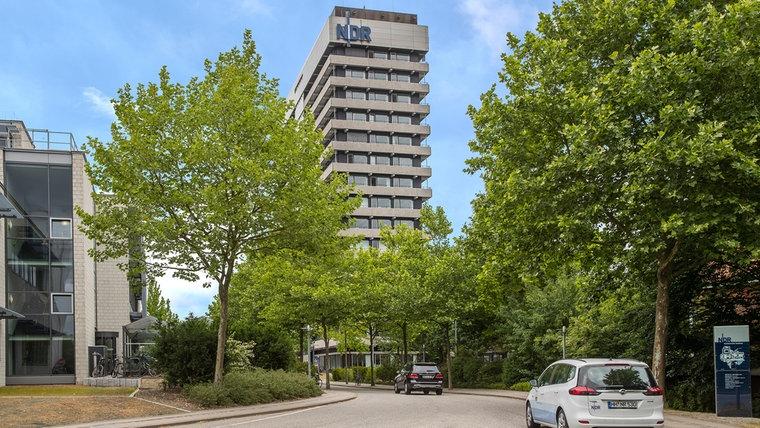 Der NDR in Hamburg-Lokstedt © NDR