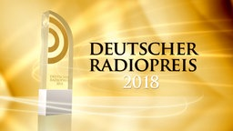 Trophäe für die Gewinner des Deutschen Radiopreises 2018 © Deutscher Radiopreis