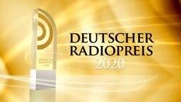 Trophäe für die Gewinner des Deutschen Radiopreises 2020 © Deutscher Radiopreis