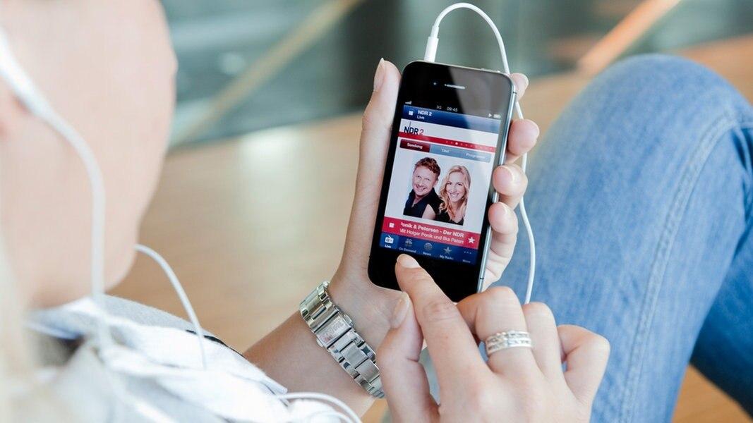 Die NDR Radio App