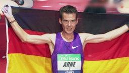 Marathonsieger Arne Gabius.