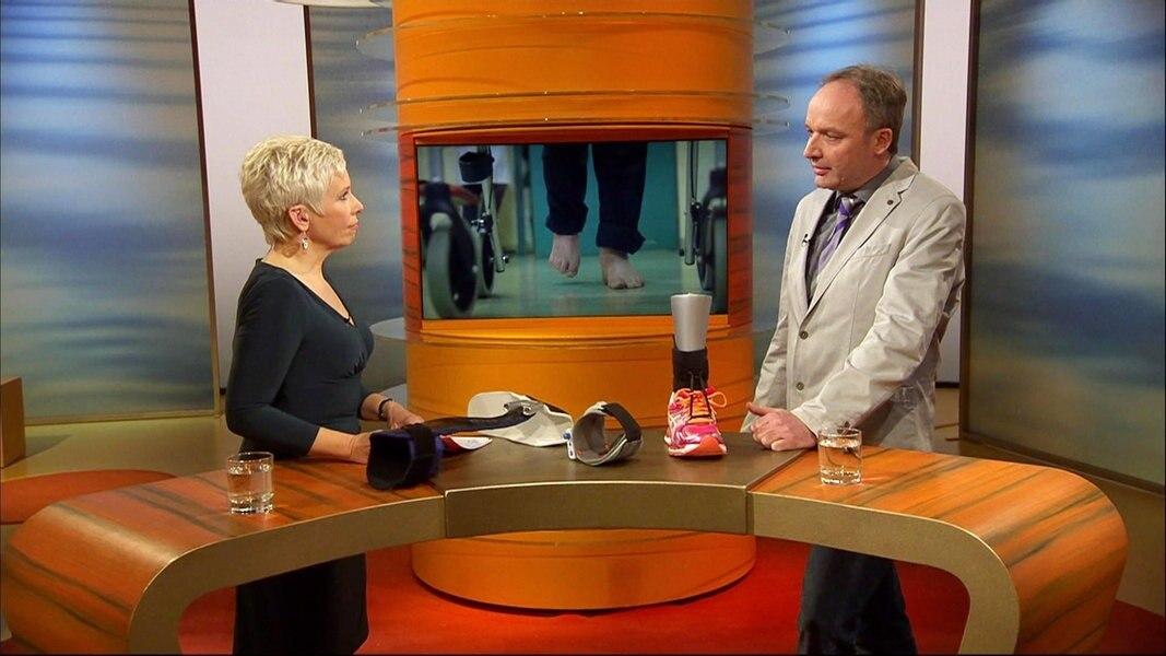 Beau Interview: Therapien Bei Fußheberschwäche | NDR.de   Fernsehen   Sendungen  A Z   Visite