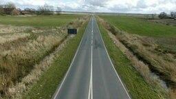 Illegale Umgehungsstraße Bensersiel