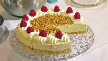 Rezept White Chocolate Cheesecake Mit Gesalzenen Erdnussen Ndr