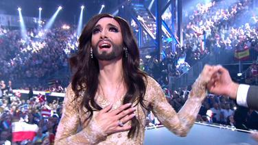 ESC-Gewinnerin Conchita Wurst. © Eurovision.de Foto: Screenshot Eurovision.de