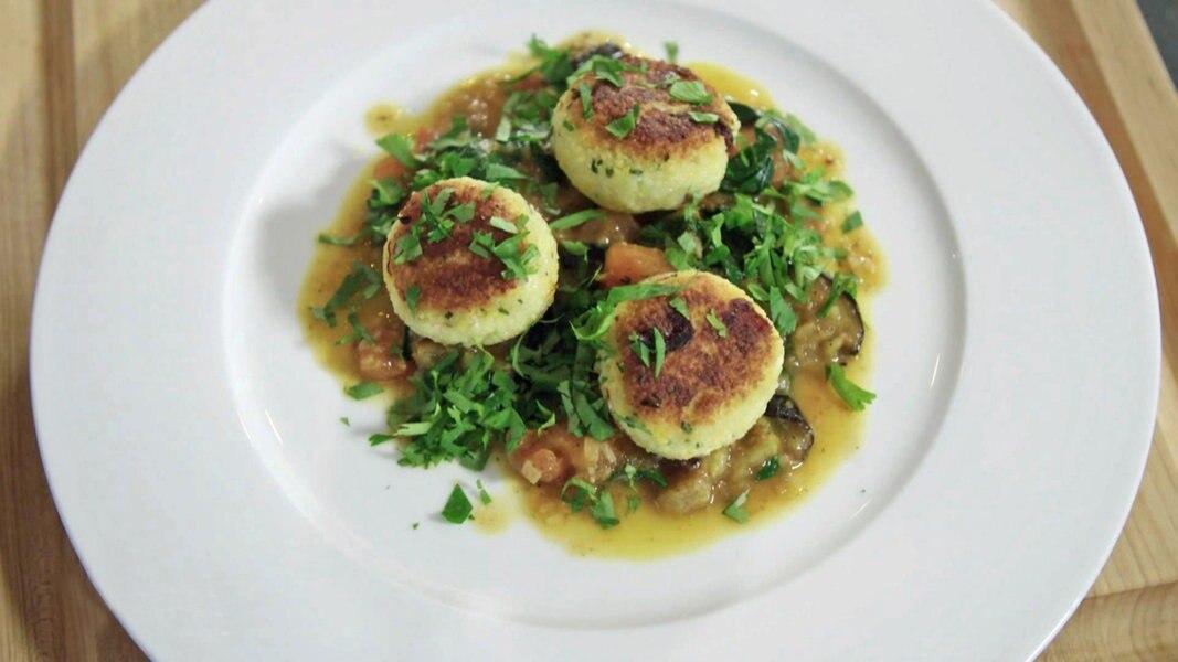 Kochen mit Dirk Luther: Couscous-Küchlein