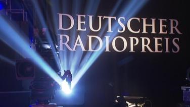 """Banner im Scheinwerferlicht """"Deutscher Radiopreis"""""""