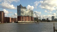 Die Elbphilharmonie © NDR/Hamburg Journal, honorarfrei