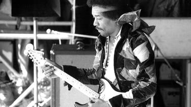 Sein letzter großer Auftritt war auf der Ostseeinsel Fehmarn: Superstar Jimi Hendrix. © NDR/ECO Media/Getty Images/Michael Ochs Archives, honorarfrei