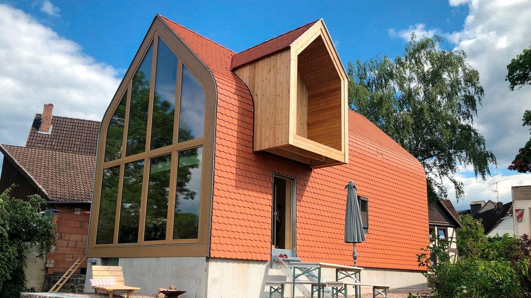Traumhäuser im Norden: Ein Holzhaus an der Weser