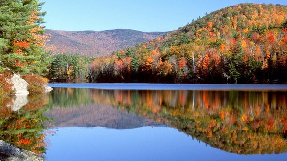 Indian Summer in Neuengland: Die Natur in voller Pracht. © NDR/Discover New England