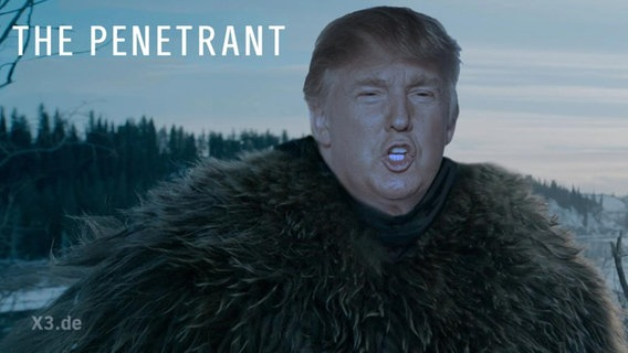 Donald Trump ist the Penetrant