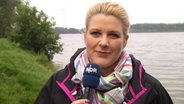 """Hamburg Journal 18:00""-Moderatorin Anke Harnack."