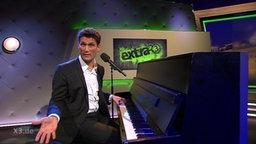 Christian Ehring am Klavier.