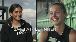 Gesa Krause und Gina Lückenkemper