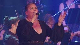 Die Sängerin Chiara Siracusa aus Malta