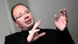Der Trierer Bischof Stephan Ackermann © picture alliance / dpa Foto: Fredrik Von Erichsen