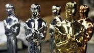 Oscar Statuen beim Produzenten R.S. Owens in Chicago, Illinois, USA © dpa Fotograf: Kamil Krzaczynski
