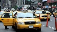 Ein Yellow Cab in New York City © picture-alliance/ dpa Foto: Maxppp Frey