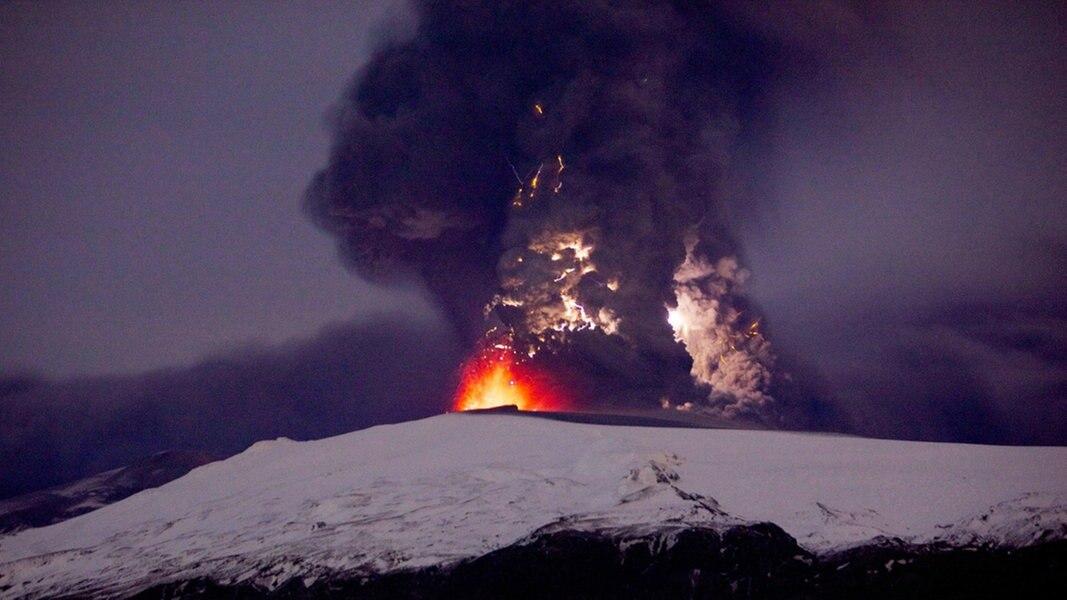 Vulkanausbruch des Eyjafjallajökull