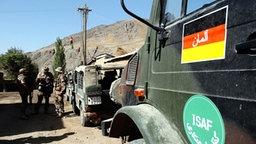 Bundeswehr in Afghanistan © dpa Foto: Z1021 Peter Endig