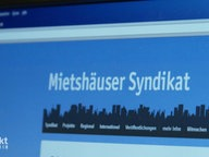 "Website ""Mietshäuser-Syndikat""."