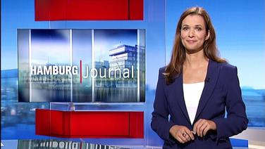 Hamburg Journal mit Moderatorin Julia-Niharika Sen.