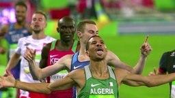 Läufer bei der Olympiade in Rio.
