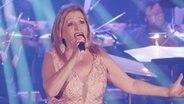 Die Sängerin Manuela Bravo aus Portugal