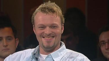 Moderator Stefan Raab am 20.12.1996.