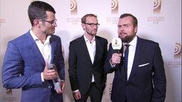 Siegertalk Beste Reportage.