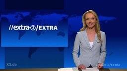 Janin Reinhardt moderiert bei Extra d.