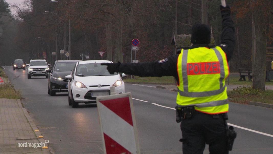 Polizei kontrolliert weiterhin in der Grenzregion zu Polen