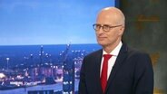 Peter Tschentscher im Interview im Studio vom Hamburg Journal am 13.12.2020.
