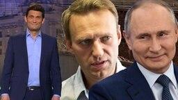 Der kleine Putin schnappt sich ein K der Krim.