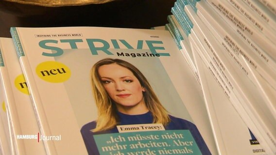 Das Cover des Strive Magazines.