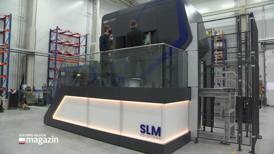 Lübecker Unternehmen baut 3D-Drucker für Motorteile