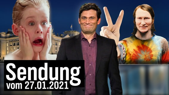 Extra 3 vom 27.01.2021 mit Christian Ehring