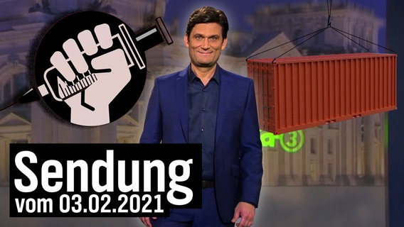 Extra 3 vom 03.02.2021 mit Christian Ehring