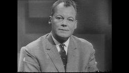 Porträitaufnahme von Willy Brandt