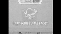 Das Symbol der deutschen Post.
