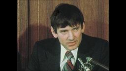 Otto Schily, Verteidiger im Baader-Meinhof-Prozess im Porträt (Archivbild).