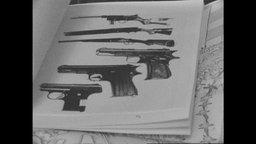 Aufnahmen von Waffen in einem RAF-Beweismittel-Katalog der Bundesanwaltschaft(Archivbild).